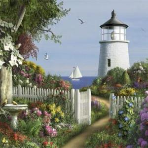 To Then Lighthouse 1000 pc.
