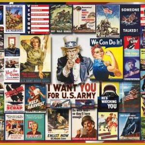 WWII Posters 1000 pc.