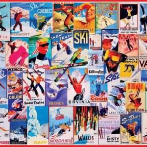Ski Posters 1000 pc.
