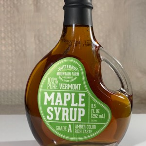 Decorative Basquaise 8.5 oz. Maple Syrup Bottle