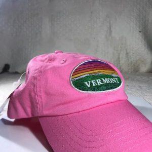 Vermont Rainbow Landscape Baseball Hat