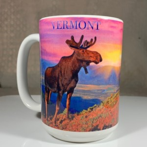 Vermont Moose Lanscape Coffee Mug