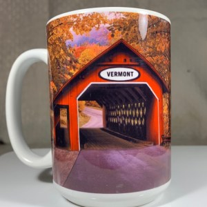 Vermont Covered Bridge Scene Coffee Mug