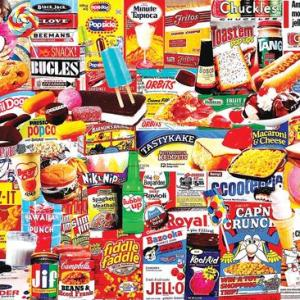 Things I Ate as a Kid 1000 pc.