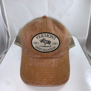 Vermont Green Mountains Moose Mesh Hat