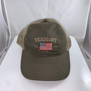 Vermont American Flag Mesh Hat