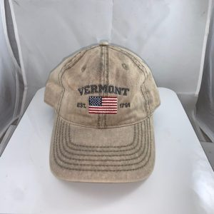 Vermont American Flag Hat
