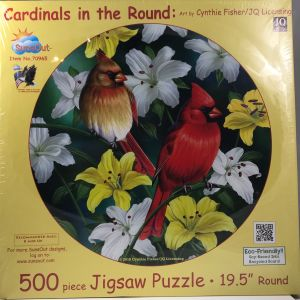 Cardinals in the Round 500 pc.