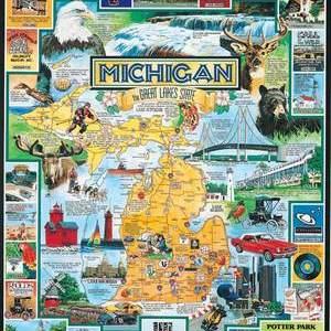 Best of Michigan 1000 pc.