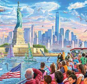 Statue of Liberty 1000 pc.