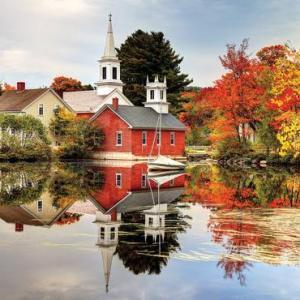 Autumn Reflection 1000 pc.