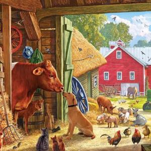Barnyard Buddies 1000 pc.