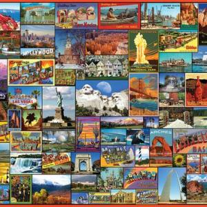 Best Places in America 1000 pc.