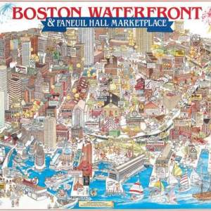 Boston Waterfront 1000 pc.