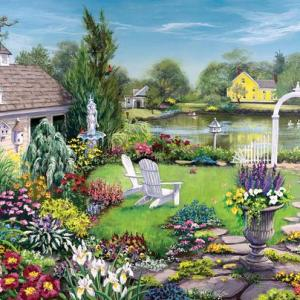 By the Pond 1000 pc.