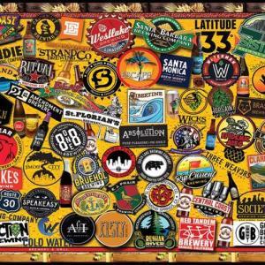 California Craft Beers 1000 pc.