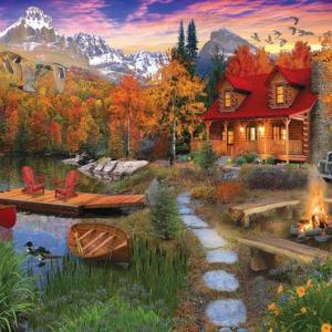 Cozy Cabin 1000 pc.