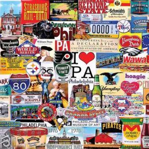 I Love Pennsylvania 1000 pc.