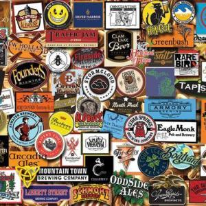 Michigan Beer 1000 pc.