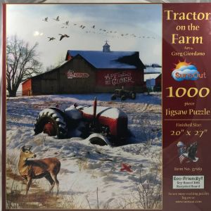 Tractor on the Farm 1000 pc.