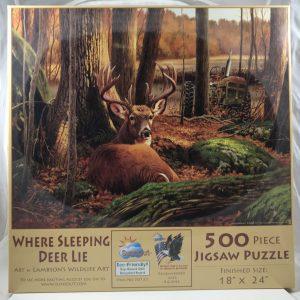 Where Sleeping Deer Lie 500 pc.