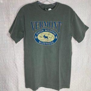 Vermont Moose Emblem T-Shirt