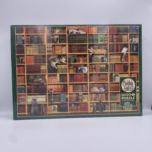 The Cat Library 1000 Puzzles