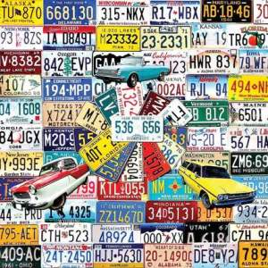 State Plates Puzzle 1000 pc.