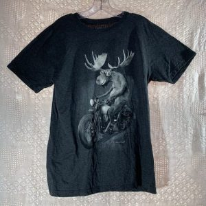 Motorcycle Moose T-Shirt