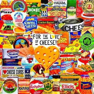 I love Cheese 1000 pc.