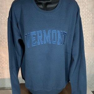 Vermont Tone on Tone Crew Neck Sweatshirt