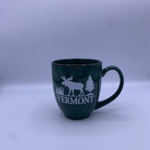 Speckled Vermont Moose Walking Mug