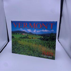12 x 9 inch Vermont Wall Calendar