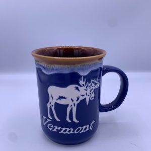 White Vermont Moose Mug