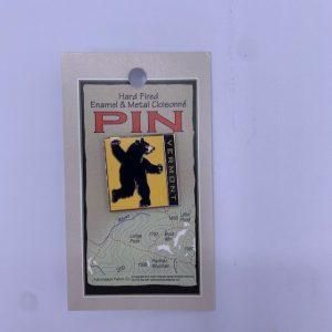 Vermont Bear Pin
