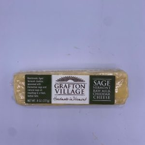 Grafton Village Sage Cheddar Cheese