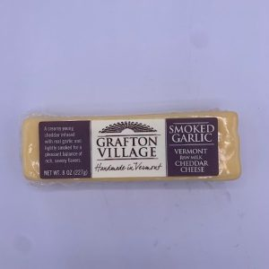 Grafton Village Smoked Garlic Cheddar Cheese
