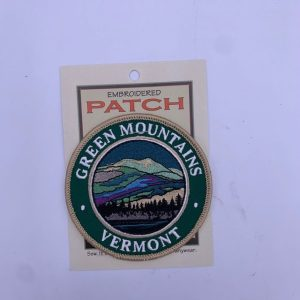 Vermont Green Mountains Night Landscape Patch