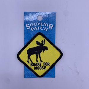 Brake For Moose Patch