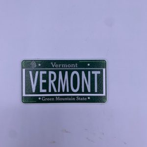 Vermont License Plate Magnet