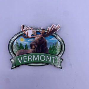 Vermont 3D Moose Magnet