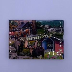 Vermont Collage Magnet