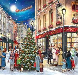 Christmas Carolers 1000 pc.