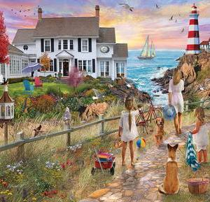 Beach Path 1000 pc.