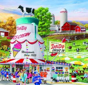 Dairy Bar 1000 pc.