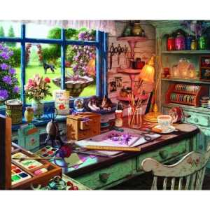 Mom's Craft Room 1000 pc.