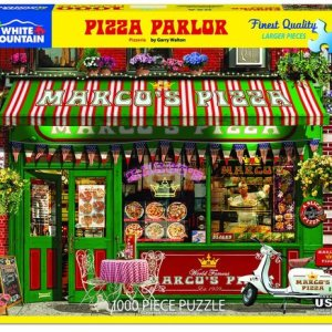 Pizza Parlor 1000 pc.