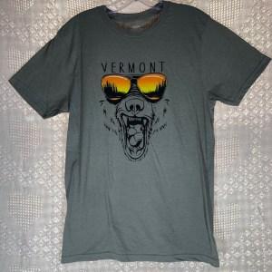 Vermont Wild Bear in Sunglasses T-Shirt