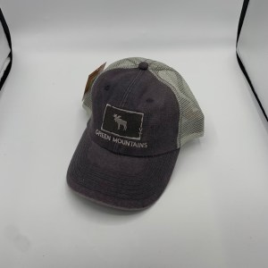 Vermont Moose In Square Hat