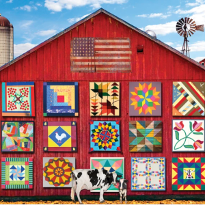 Barn Quilts Puzzle 1000 pc.